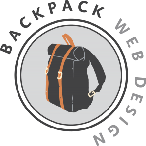 Backpack Web Design Logo